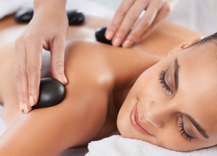 Hot Stone Treatment from Holistic Massage