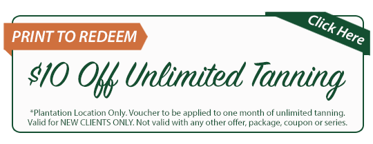 wellness specials coupon of $10 off unlimited tanning from HMWC