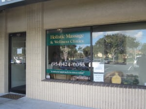 Holistic Hollywood Massage location