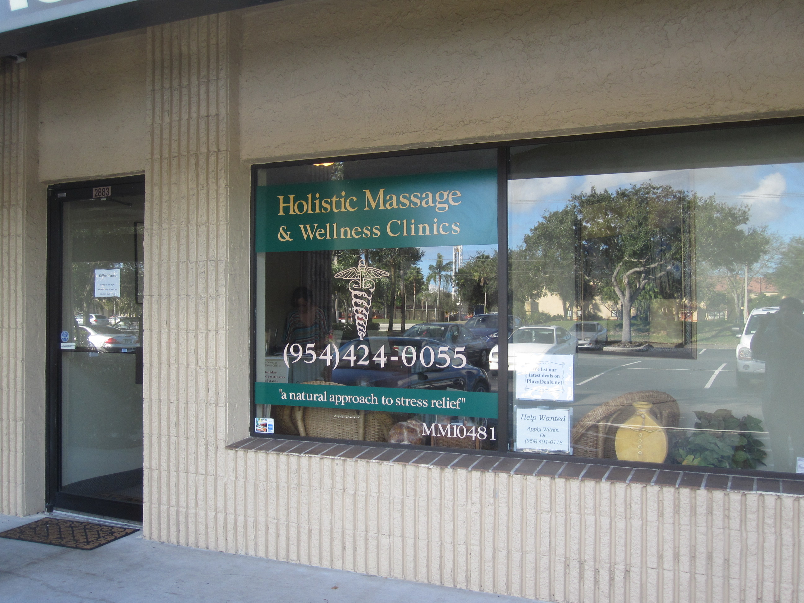 Davie Holistic Massage location