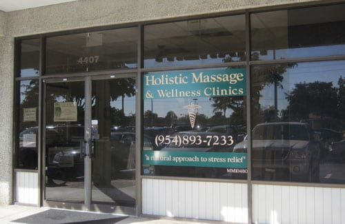 Holistic Massage & Wellness Clinics Hollywood location