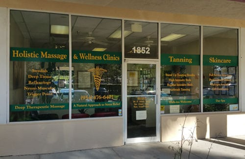 Massage Plantation FL location